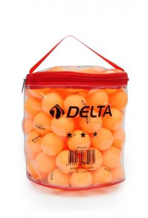 Delta Çantalı 100 adet Turuncu Masa Tenisi Topu (Pinpon Topu) PNPN-TP-100-XT-PN441
