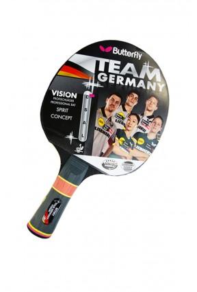 BUTTERFLY Team Germany Vision Masa Tenisi Raketi 85092