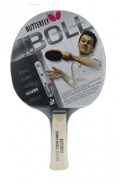 Butterfly 85015 TIMO Boll Silver Masatenisi Raketi