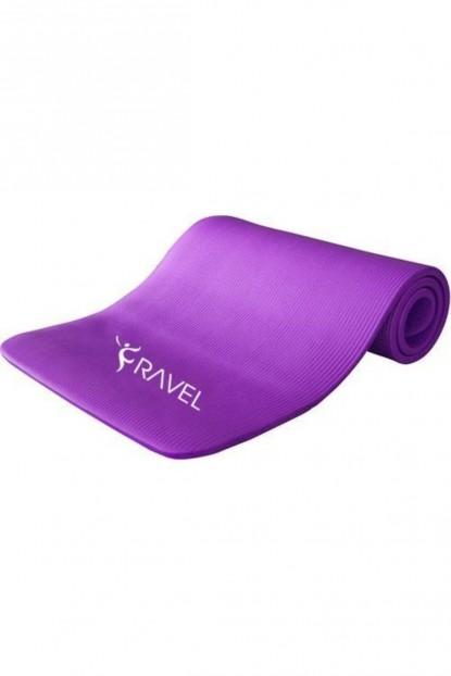 Ravel 10 mm Kalınlık Özel Pilates Egzersiz Minderi / Yoga Mat Lila