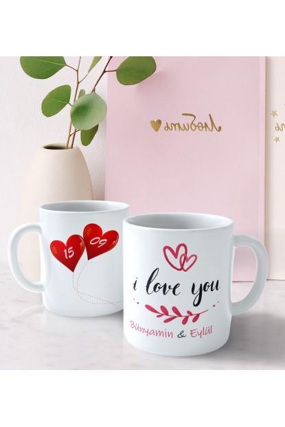 Kişiye Özel Seni Seviyorum Bardağı
