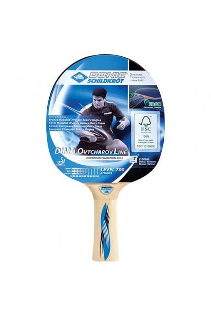 Donic Dima Ovtcharov Line 700 ITTF Onaylı Masa Tenisi Raket 3 Top + Kılıf Set