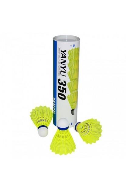 Yanyu 350 6 lı Badminton Topu Sarı