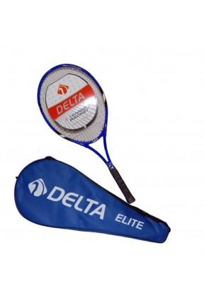Delta Elite Tek Parça Çantalı 27inc Tenis Raketi MAVİ L2 ELITE-L2
