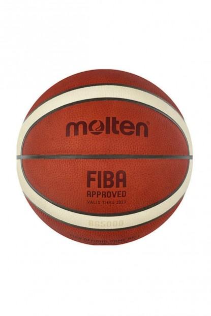 Molten B6g5000 Fiba Onaylı Deri No 6 Basketbol Maç Topu B6G5000