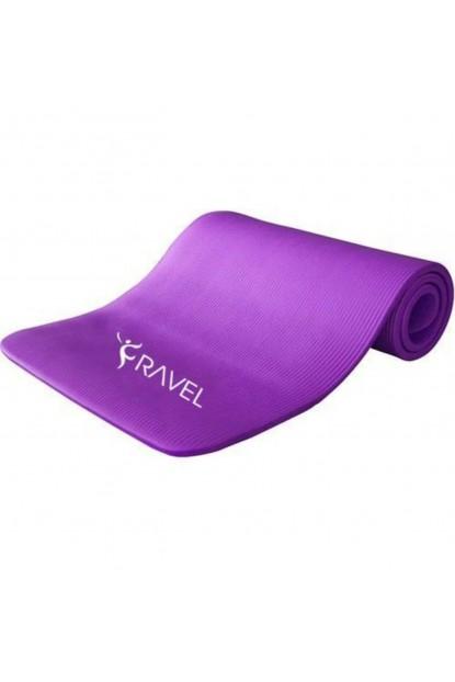 Ravel Taşıma Askılı 10 mm Foam Pilates Egzersiz Minderi Yoga Mat