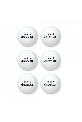 Delta Masa Tenis Topu 6'Lı