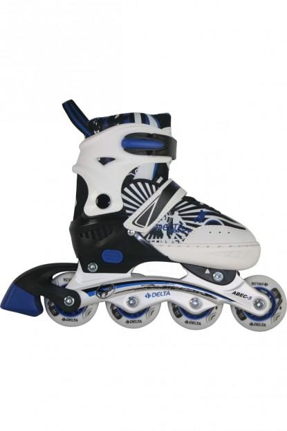 Inline Skate Silikon Teker Ayarlanabilir Alüminyum Paten 30-33 Numara