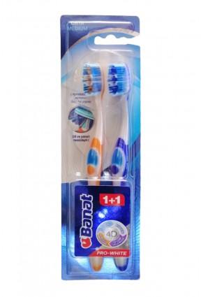 Banat Diş Fırçası - Pro White Medium 1 + 1
