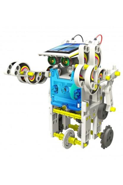 Güneş Enerjili Robot Yapma Seti Eğitici Oyuncak 14 In 1 Solar Ki