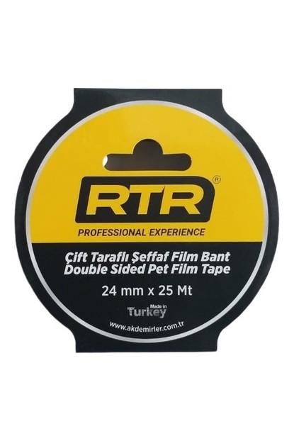 Rtr Çift Taraflı Bant Şeffaf 24 mm x 25 Metre