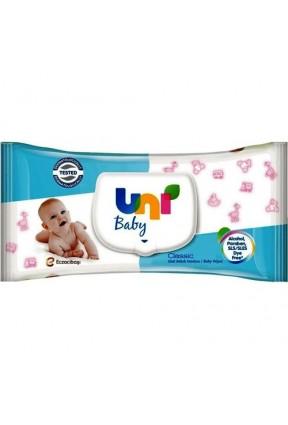 Uni Baby Classic Islak Bebek Havlusu 56 Lı