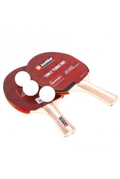 Lotto EK123 Hudson Masa Tenisi Raket Seti