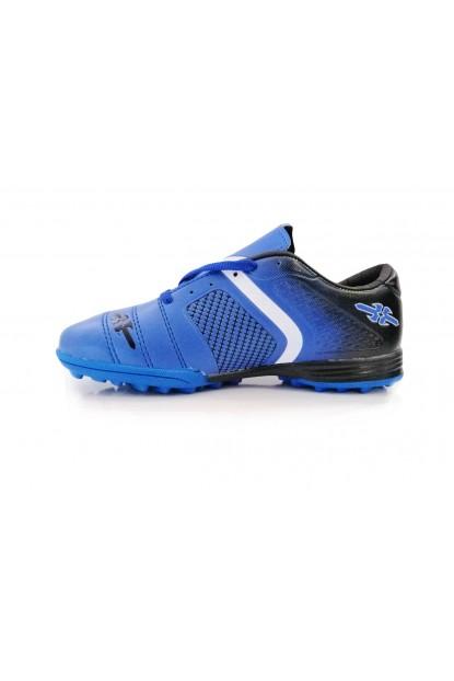 CLX Mavi Siyah Halı Saha Ayakkabısı Ücretsiz Kargo