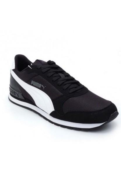 Puma 366811-05 St Runner V2 Mesh Erkek Günlük Spor Ayakkabı Siyah/Beyaz