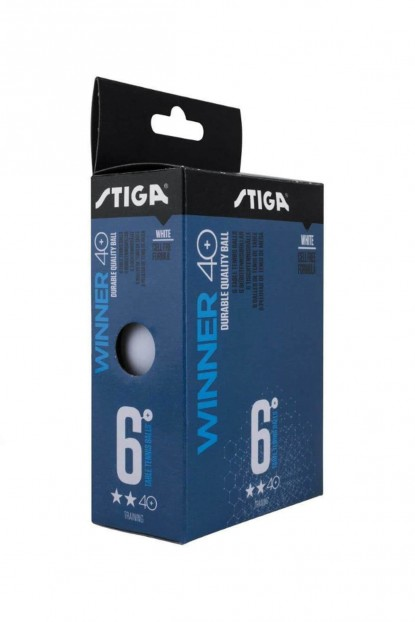 Stiga Winner 40+ 2 Yıldız Antrenman 6'lı Masa Tenisi Topu Pinpon