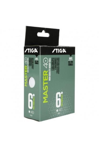 Stiga Master Cup 40+ 6'lı Eğlence Masa Tenisi Topu Turuncu