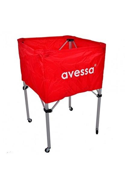 Avessa TA100 Tekerlekli Top Arabası Kırmızı Ücretsiz Kargo