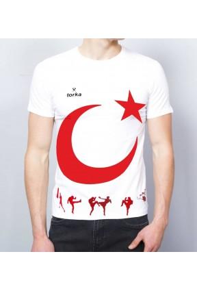 Torka Türk Bayraklı Tişört Ücretsiz Kargo