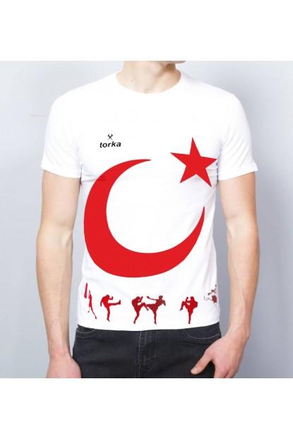 Torka Türk Bayraklı Tişört