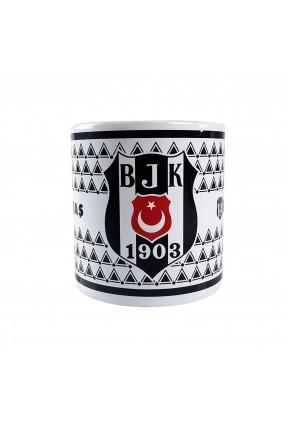 Beşiktaş Taraftar Kupa Seramik Bardak Lisanslı
