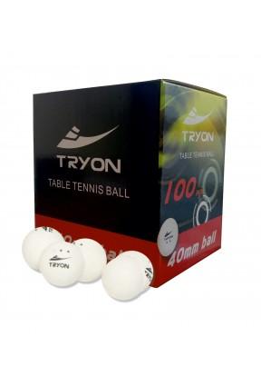 TRYON MTT-90 MASA TENİSİ TOPU 100'LÜ